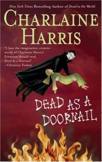 capa do livro Dead as a Doornail