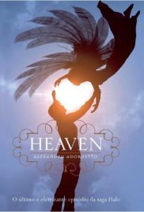 capa do livro Heaven - Halo #3 - Alexandra Adornetto