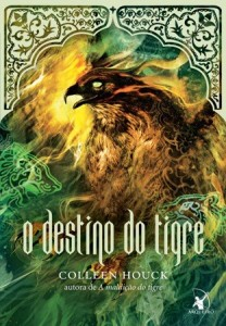 capa do livro O Destino do Tigre - Colleen Houck