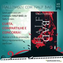 Promoção Halloween com Half Bad