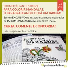 Promoção Jardim das Mandalas - Instagram